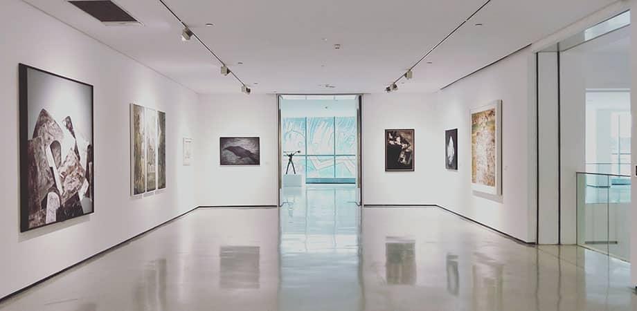 Ejemplo de galería de arte