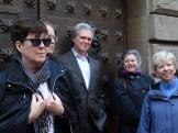day 3_Gothic Quarter walk (Kate Schwennsen, Charlie Mickel, Stephen White, Marion White, Jeryl C. Jones)