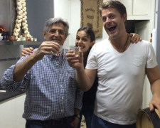 "Homemade ""Da Boa"" Cachaça with João Manoel and Fernanda"