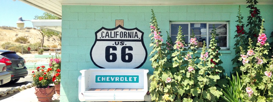 Looking on the Bright Side on Route 66