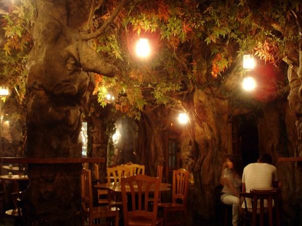 El Bosc de les Fades Barcelonas enchanted forest bar