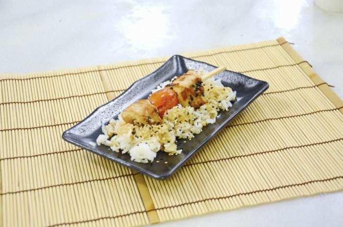 Pincho-pollo-teriyaki