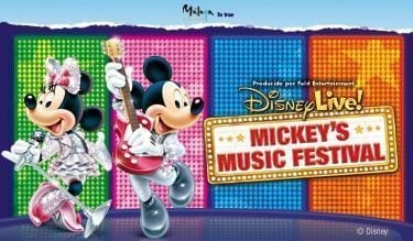 Disney Live! Mickey's Music Festival.