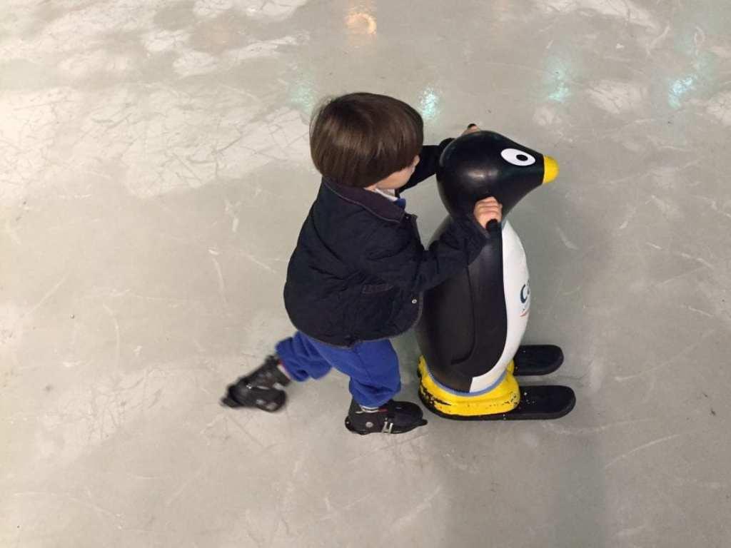 patinar sobre hielo