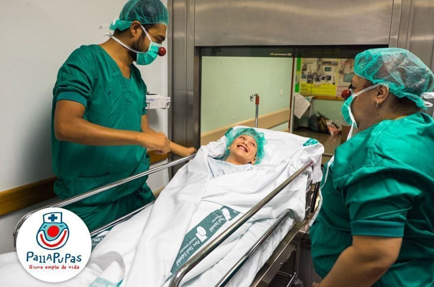 pallapupas payasos hospital