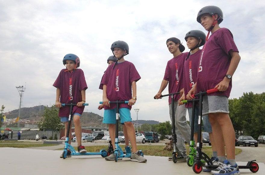urban time scooter & skateboard Barcelona