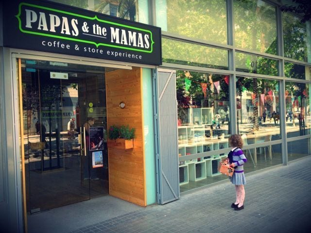 Papas & the Mamas, coffee & store experience