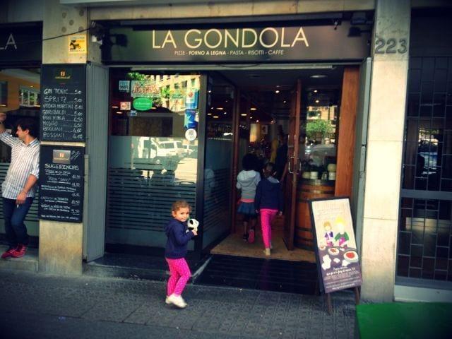 Pizzería La Góndola, para disfrutar en familia