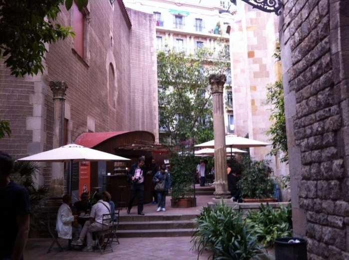 Terraza_Museu_Frederic_Marès