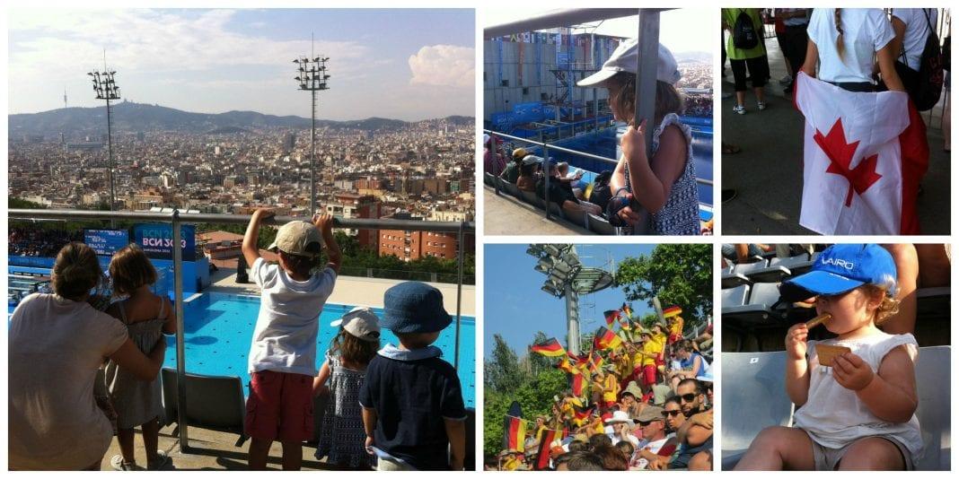 Piscina municipal de montjuic barcelona colours for Piscinas municipales barcelona
