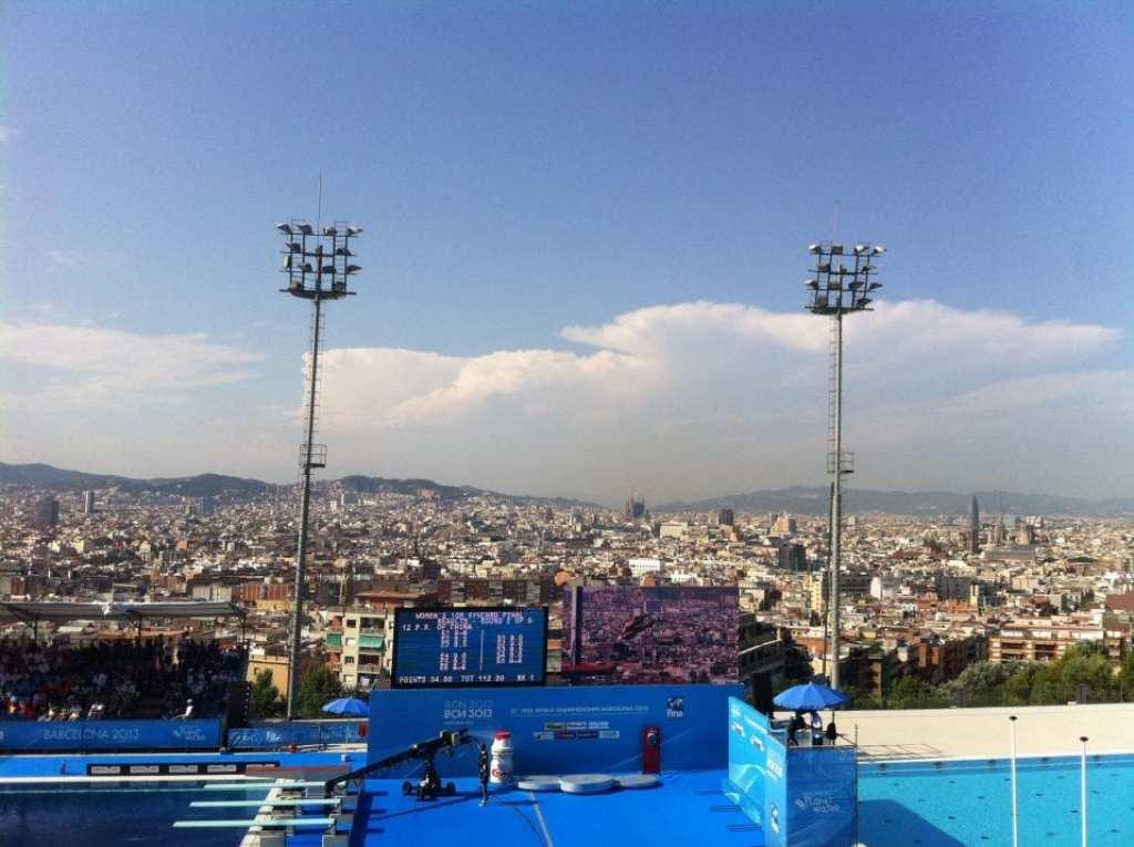 Las mejores piscinas de barcelona barcelona colours for Piscinas municipales barcelona