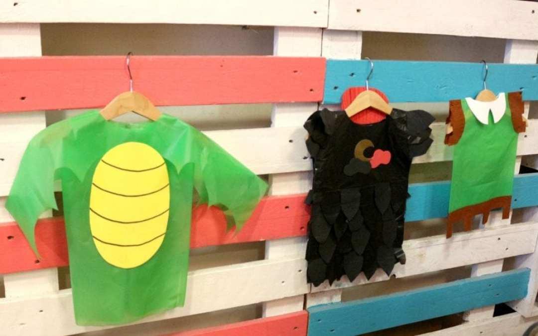 Disfraces medievales DIY para niños