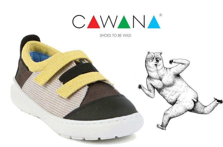 Cawana, zapatos infantiles para vivir aventuras