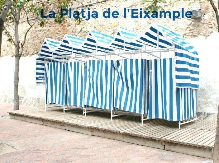 """La """"playa"""" de l'Eixample"""