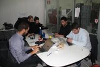 Membres de l'equip del Fab Lab Barcelona.