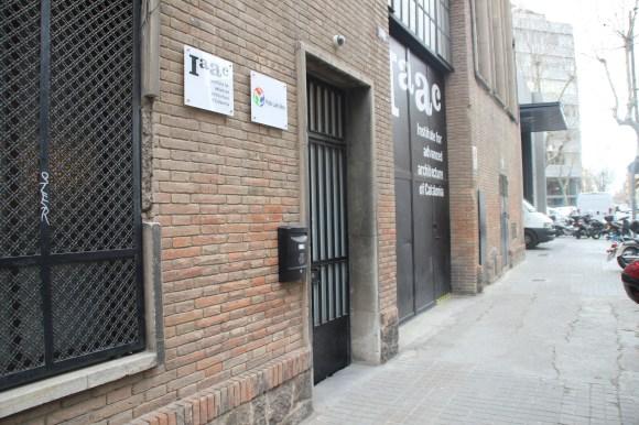 Façana exterior del Fab Lab Barcelona.