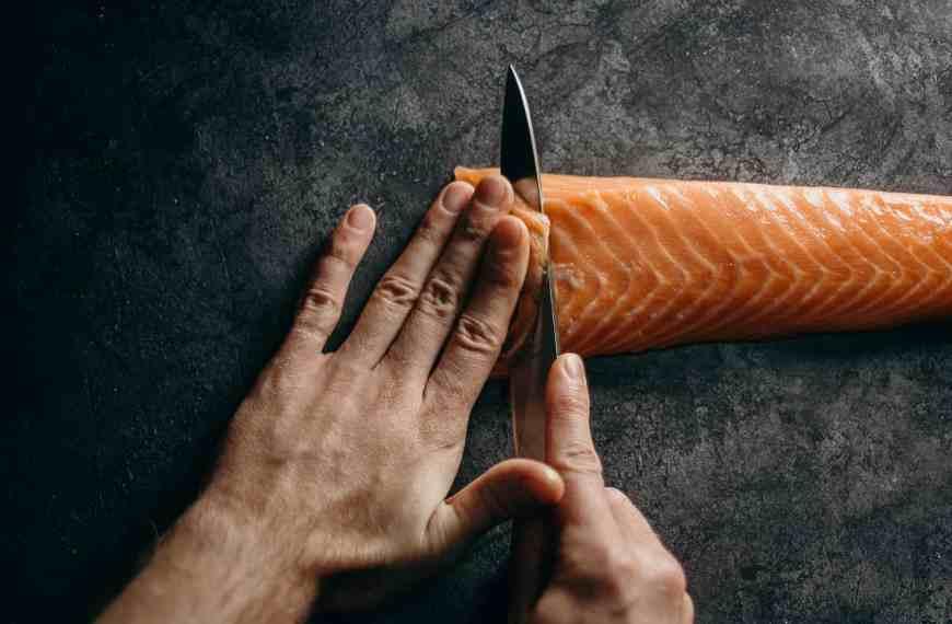 Gin-baked salmon: full of buttery, juniper goodness
