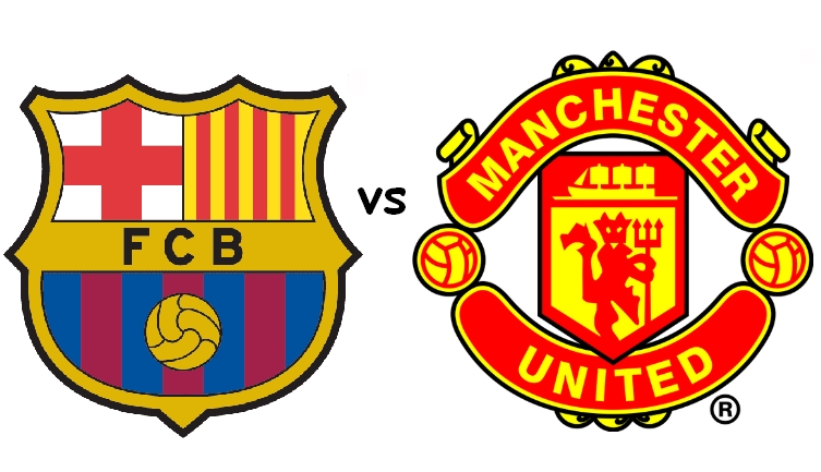 the fc barcelona manchester united legends charity game to play at rh barcelonainfo site manu logistics menu logo