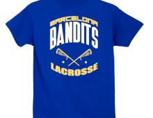 Barcelona Bandits Lacrosse Tees