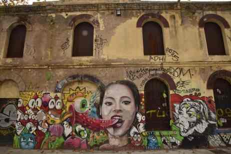 Hangar Barcelona Mural