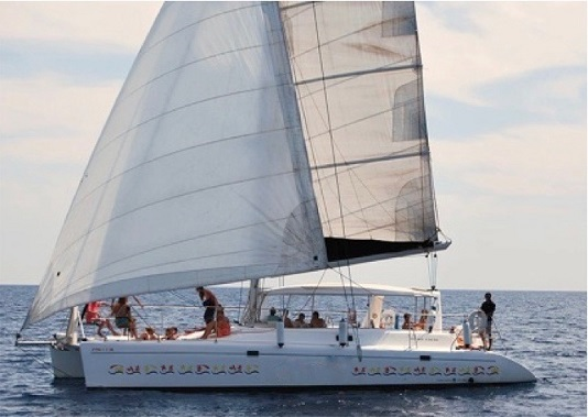 Catamaran boat trips Barcelona Corporate sail tours