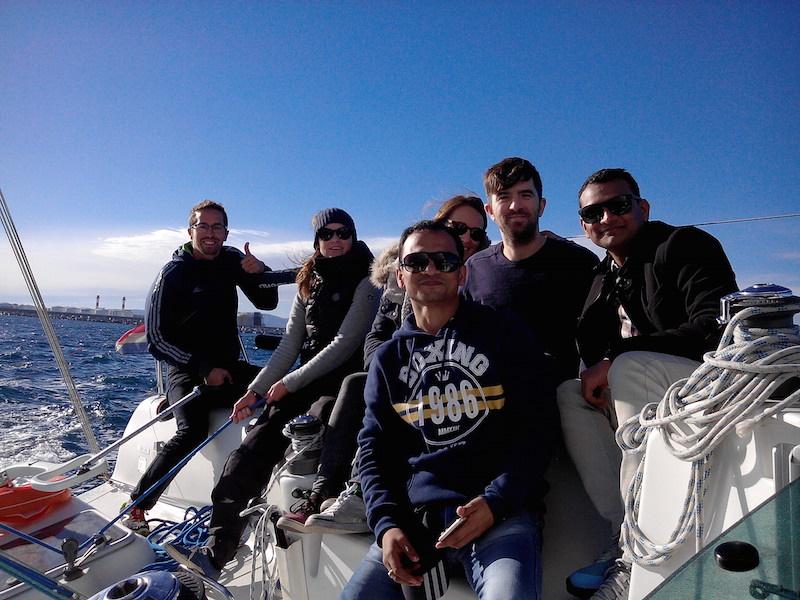 Barcelona autumn day sailing tours