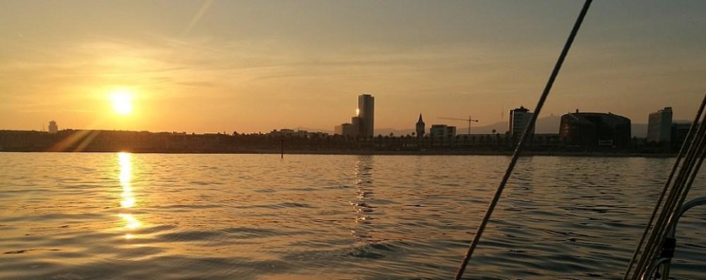 Barcelona shore line sail tour
