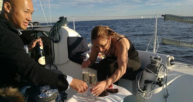 personalized sail tours port olimpic barcelona
