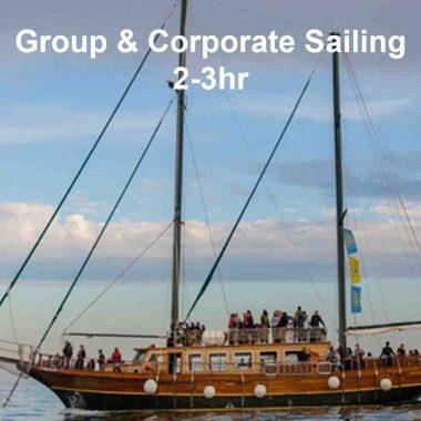 Corporate sail tours Barcelona company boat tours barcelona large group tours barcelona