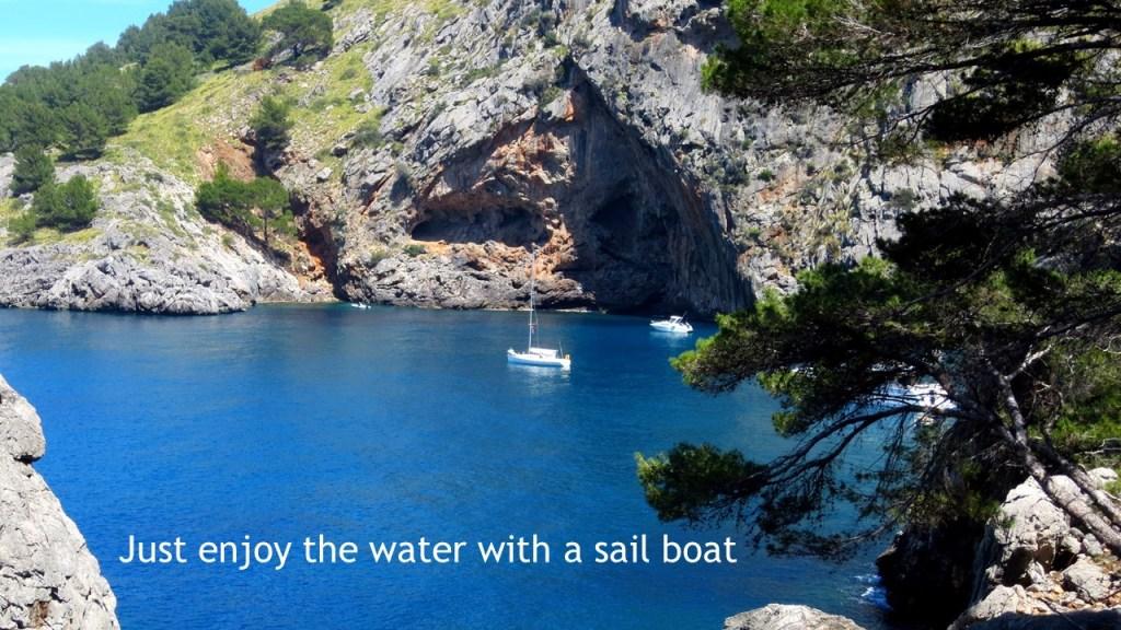 Exploring Spain by boat.