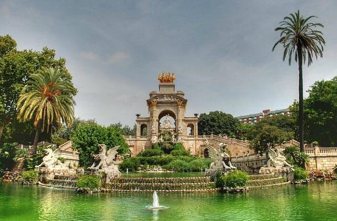 parques bonitos barcelona