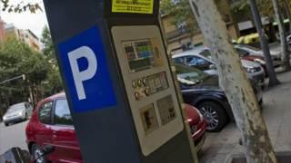 aparcar en Barcelona