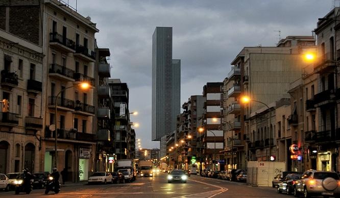 edificios futuristas de Barcelona
