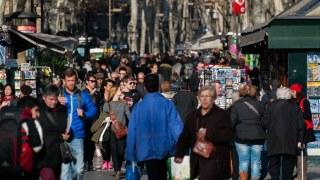 día cotidiano en Barcelona
