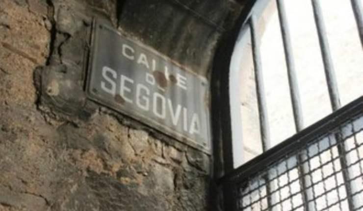 Calle de Segovia de Barcelona