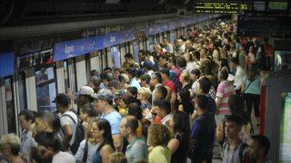 huelga del metro