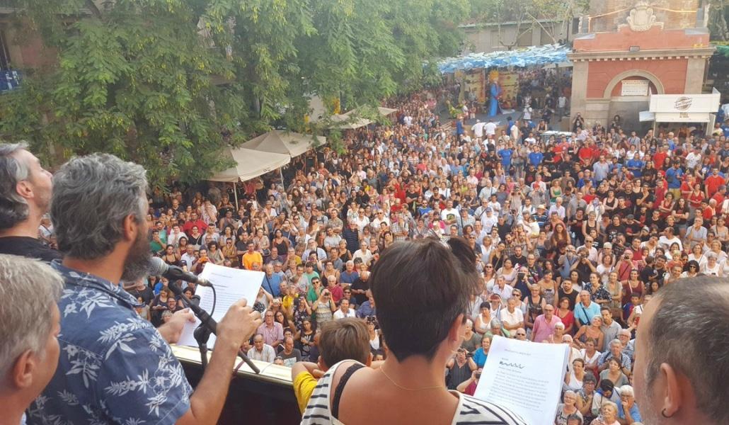 pregón de las fiestas de Gràcia