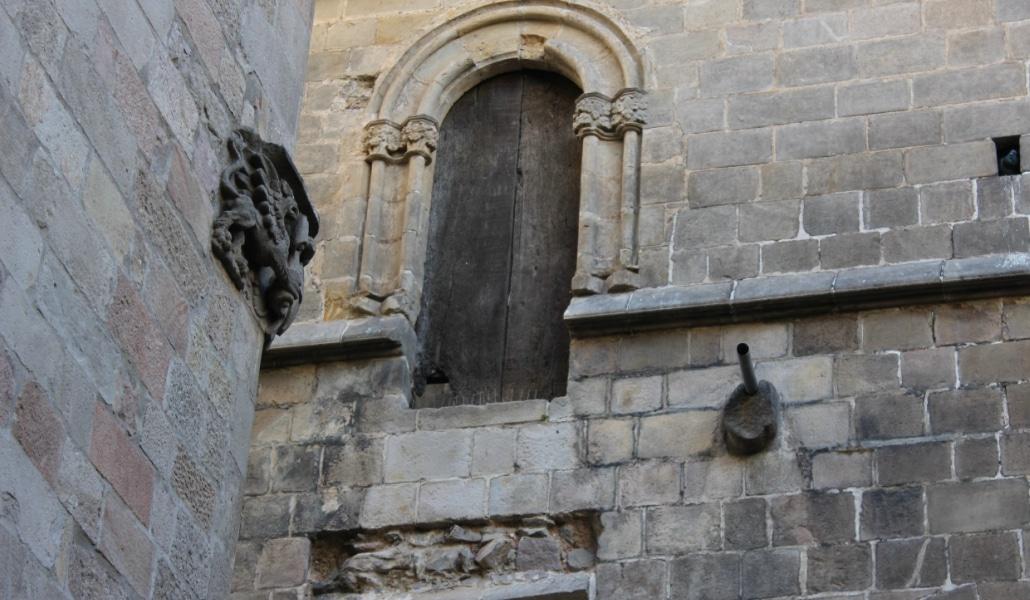 puerta que no conduce a ninguna parte