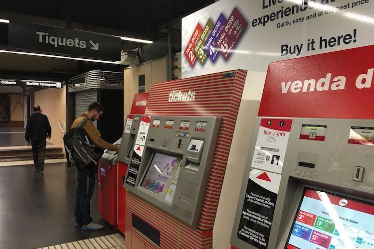 Mensen, automaten, tickets