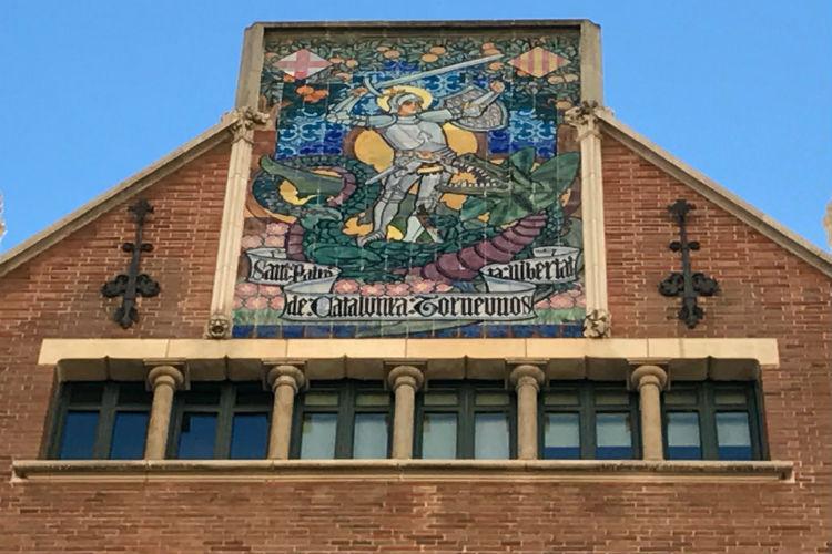 Sant Jordi Casa de les Punxes