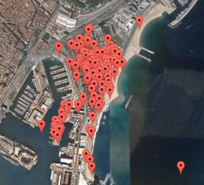 Mapa Sonor Barceloneta 2015
