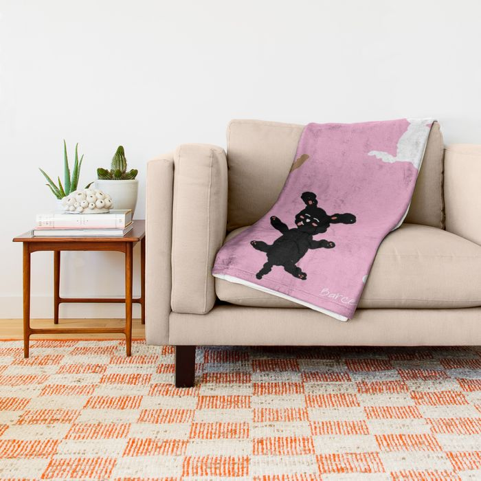 poodle-party-throw-blankets-1
