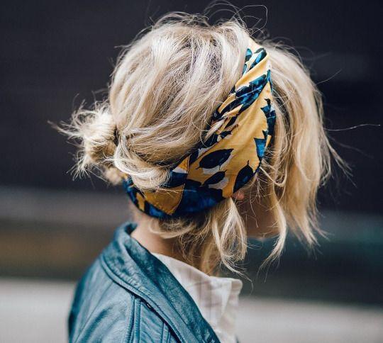+40 formas de llevar pañuelos con estilo