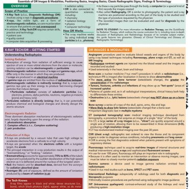 Quick Study QuickStudy X-Ray Tech Laminated Study Guide BarCharts Publishing Medical Career Guide Cover Image