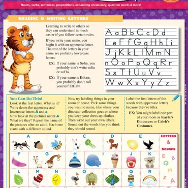 Quick Study QuickStudy English: Kindergarten  Laminated Study Guide BarCharts Publishing Grade School Reference Cover Image