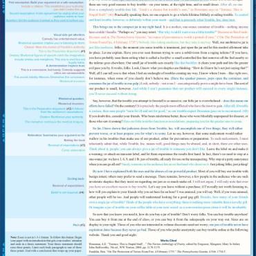 Quick Study QuickStudy Persuasive Essay Laminated Study Guide BarCharts Publishing Language Arts Reference Back Image