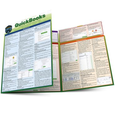 Quick Study QuickStudy Quickbooks Laminated Reference Guide BarCharts Publishing Business/Finance Productivity Software Outline Main Image