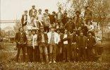 105-ös villanyszerelő osztály, 1982 (Fotó: Holló István - KDK)