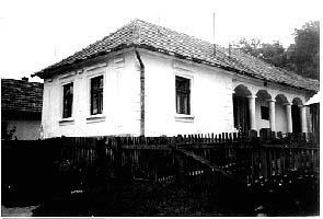 Jellegzetes alacskai parasztház