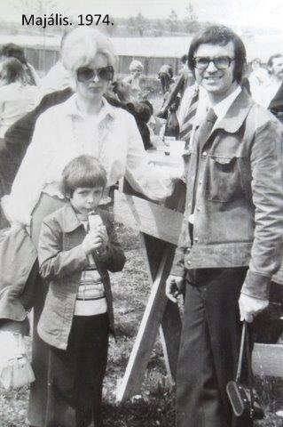 """""""Mi is ott voltunk""""- mondhatná Konkolyné Vida Ágnes """"majdnem szomszéd"""". A képen látható kisfiú ma hazánk brazíliai nagykövete"""